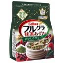 ホットミルクで抹茶ラテ風!?カルビー「フルグラ抹茶あずき味」1月21日新発売!