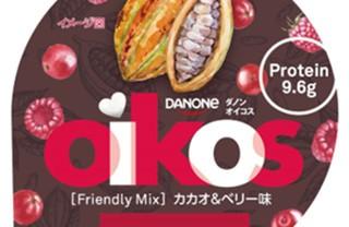 【1月21日新発売】ダノンオイコス「カカオ&ベリー」←バレンタインに新感覚ヨーグルト!