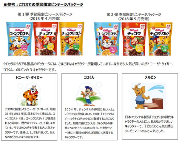 10%増量!ケロッグ「コーンフロスティ・チョコワ・チョコクリスピー」桜デザイン 1月中旬より登場!?