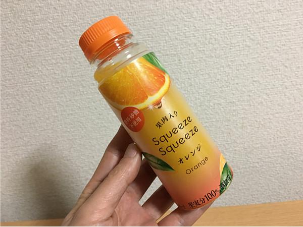 第2位:セブン限定「スクイーズスクイーズ オレンジ」